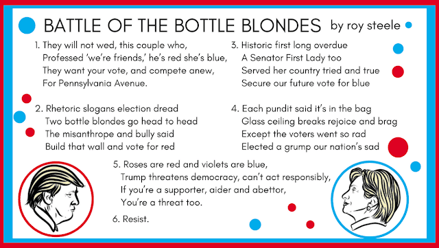 Visual representation of BATTLE OF THE BOTTLE BLONDES by roy steele optimized for Google+ or the Web.
