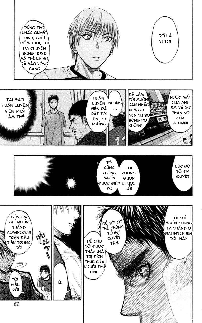 Kuroko No Basket chap 063 trang 16