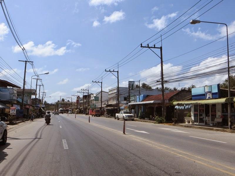 Маленький городок Таиланд