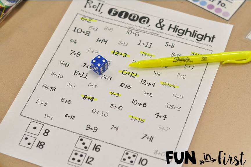 Tips for Teaching Fact Fluency - Fun in First