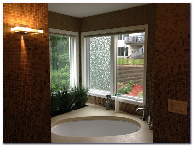 Bathroom WINDOW Privacy TINT Film