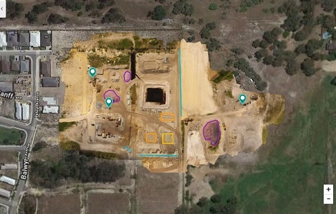 Drone Site Scan Stockpile Volume using Drone Deploy - Image 1