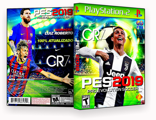 PES 2019 PRO EVOLUTION SOCCER PS2 – ISO