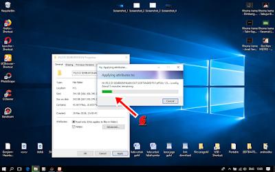 Cara Menyembunyikan/Hidden File Di Komputer