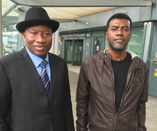 Ex Nigerian president Goodluck Jonathan on his uk trip for speaking engagements