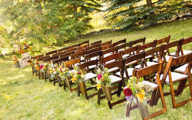 Backyard Country Wedding Ideas - Outdoor Backyard Wedding