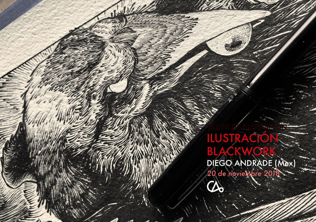 ILUSTRACIÓN BLACKWORK // 20 de nov