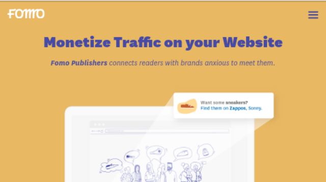 Fomo Publisher adsense alternative