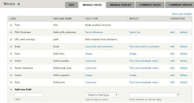 menambahkan field tags kedalam content type