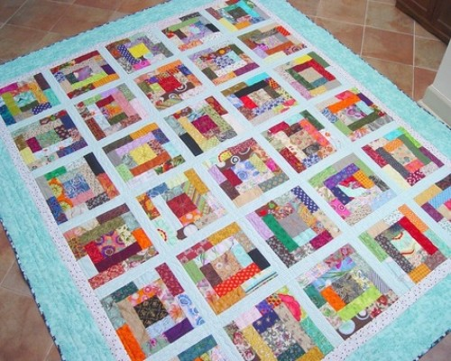 Crayon Box Quilt - Free Pattern