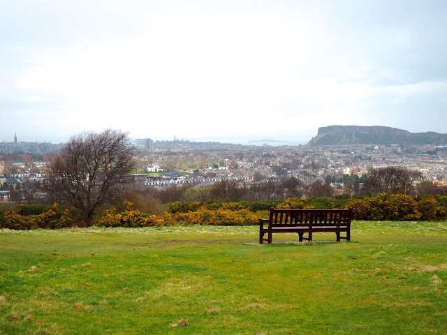 View from Blackford Hill, Edinburgh