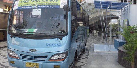 IIMS 2014 Sediakan Layanan Shuttle Bus Dari Bandung