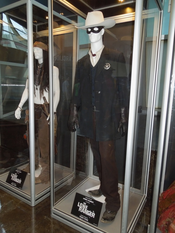 Original Lone Ranger movie costume
