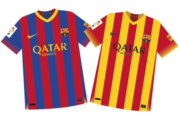 33b3c7011d319 Relacionar las etiquetas Nueva Nike Camisetas de fútbol del barcelona 2013  baratas