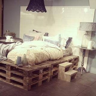 dc44bc9752dc ΙΔΕΕΣ . 5 κρεβάτια από παλέτες. Εύκολες κατασκευές.