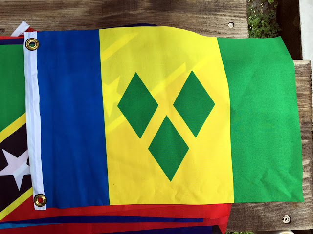 DIY Courtesy Flags