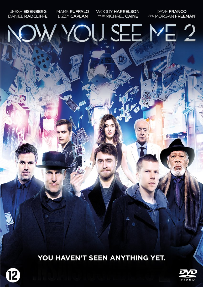 Now You See Me 2: NL DVD & Blu-ray Artwork