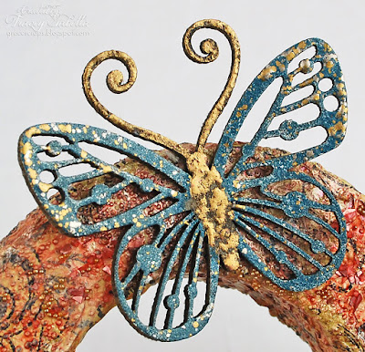 Blue Fern Studios Royal Monarchs Butterfly - Detail photo 3
