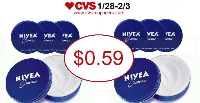 http://www.cvscouponers.com/2018/01/hot-pay-059-for-nivea-creme-1-oz-at-cvs.html