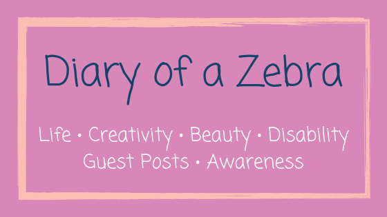 Diary of a Zebra: GUEST POST & POEM by Janice about her journey with