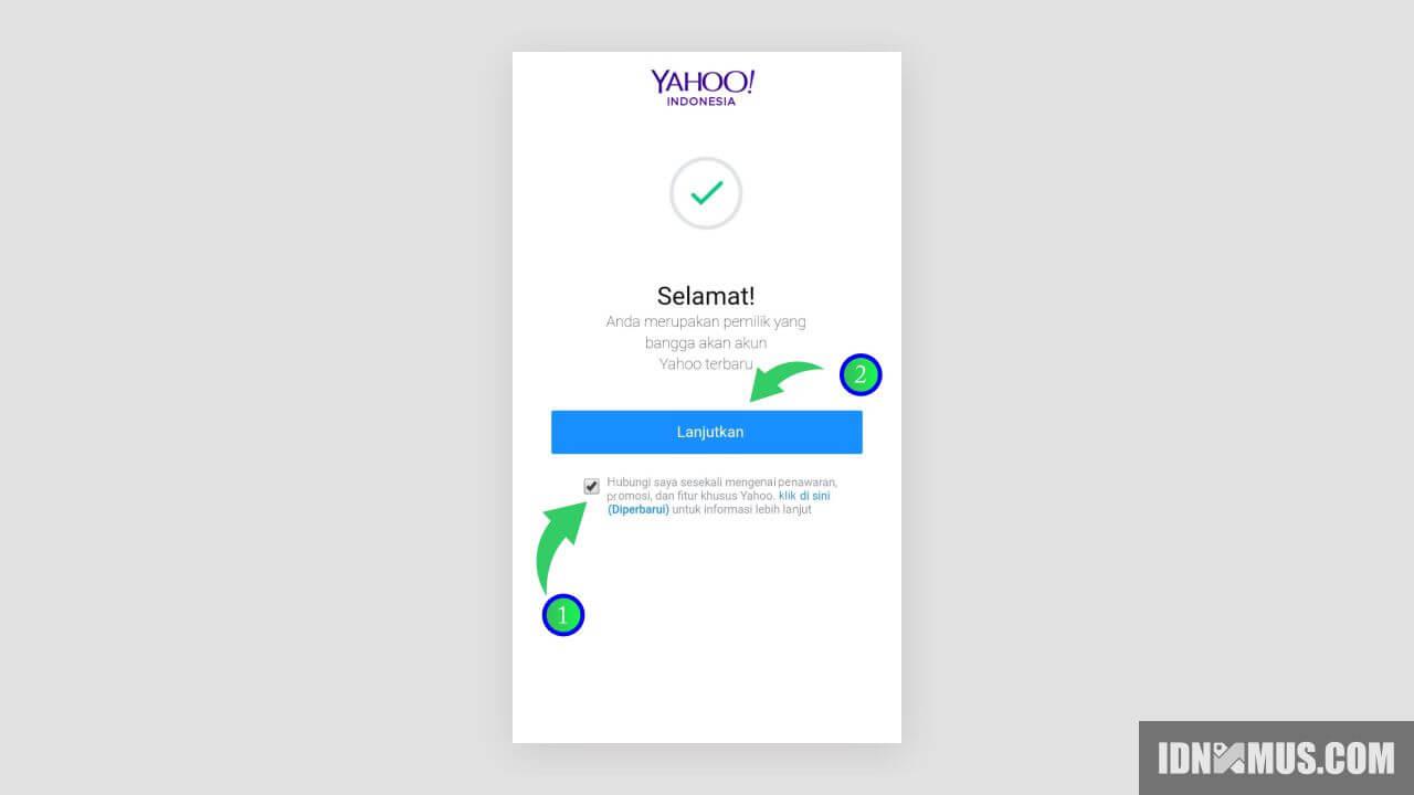 Cara Buat Email Yahoo di Android