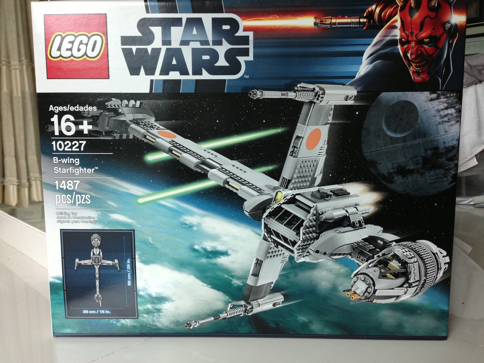 The Marriage of LEGO and Star Wars  Review  10227 UCS B Wing Starfighter Review  10227 UCS B Wing Starfighter
