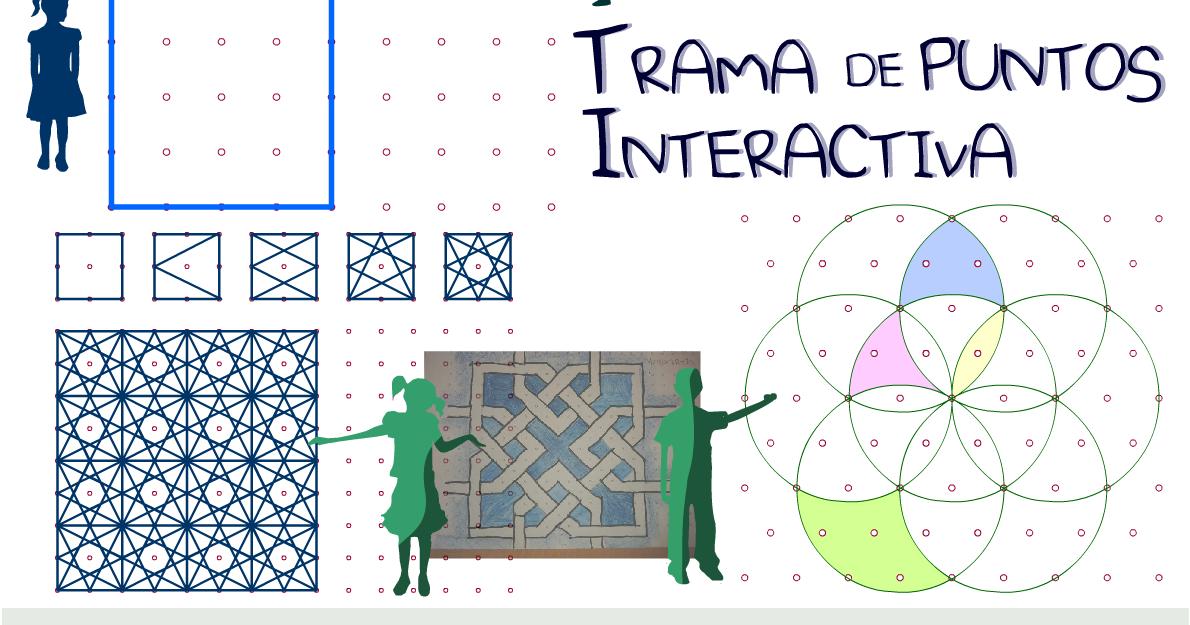 didactmaticprimaria: Trama de puntos interactiva. Para todos los ...