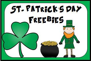 St Patricks Day Freebies