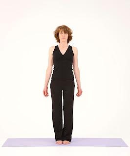adhara yoga asanas de pie