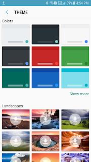 أشكال وألوان لتغيير ثيم لوحة مفاتيح جوجل