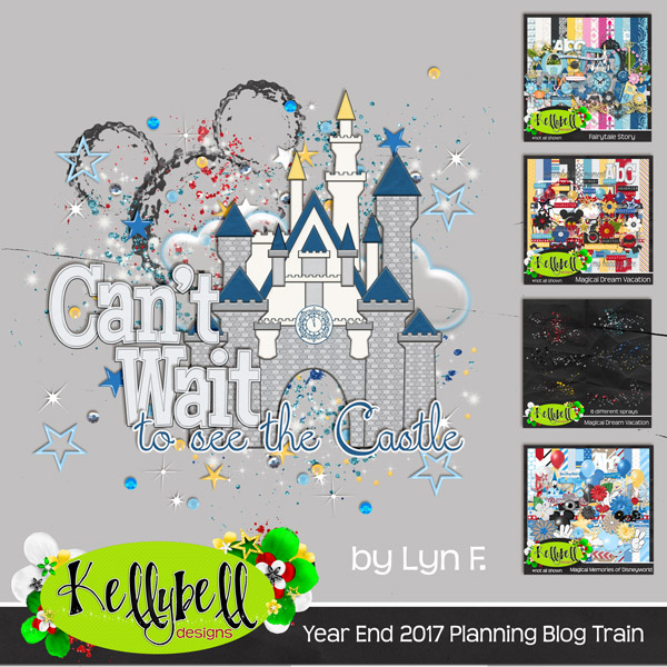 Disney Planning Blog Hop & Sale from KellyBell Designs