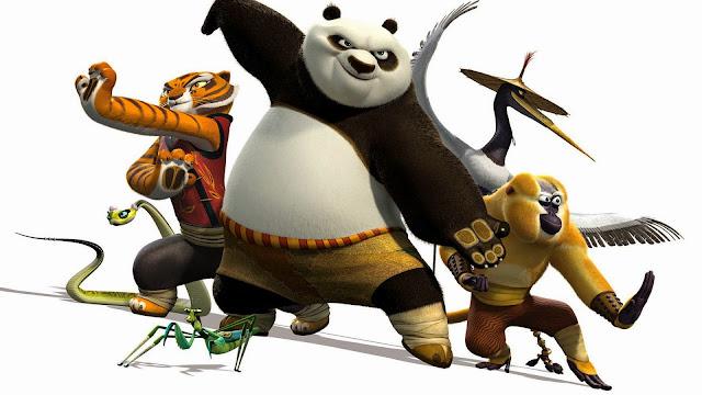 Wallpaper Kungfu Panda 2 HD