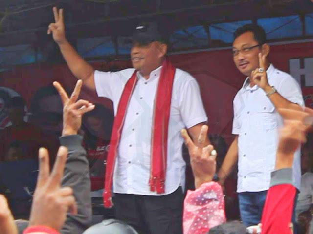 Murad Ismail dan Barnabas Orno Gelar Kampanye Terbuka di Saumlaki