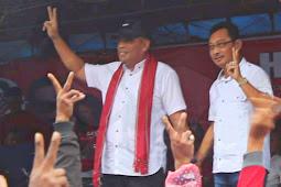 Pasangan Murad Ismail dan Barnabas Orno Gelar Kampanye di Saumlaki