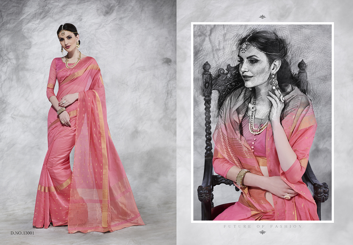 L.T – WEAVES-Latest Fashion Designer Cotton Saree