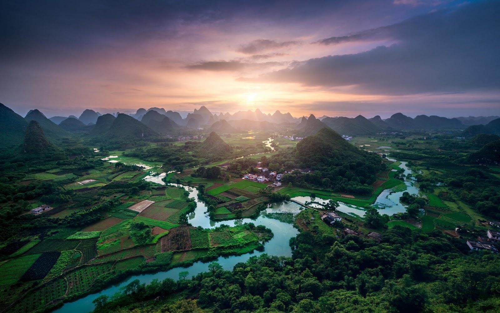 Nature Landscape China Wallpaper