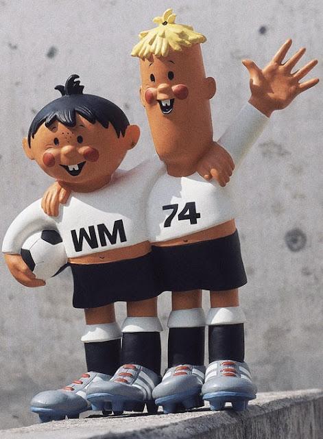 TIP y TAP  Mascota del Mundial de Futbol año 1974 Alemania