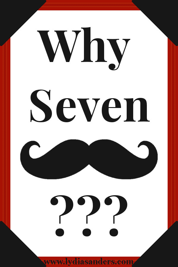 Why Seven Mustaches? Graphic