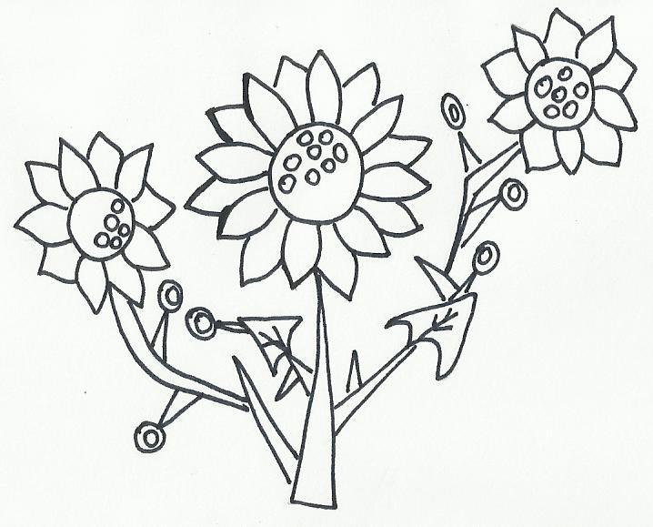 Imagenes Y Dibujos Para Colorear Dibujos Flor Azucenas Y
