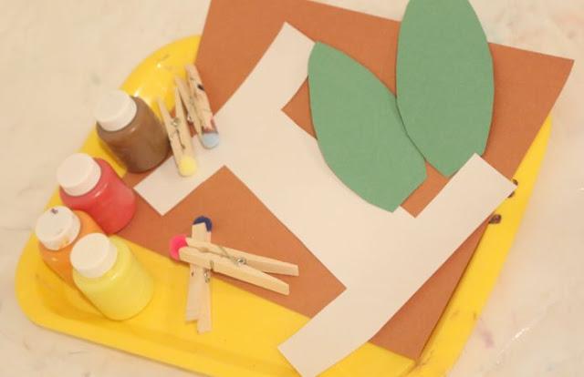 preschool letter craft