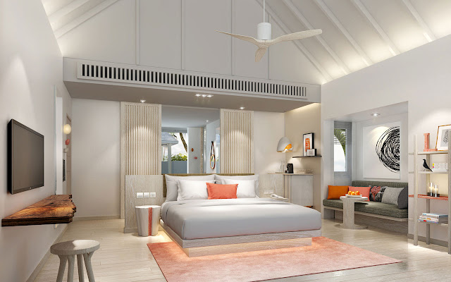 LUX* South Ari Atoll, Beach Villa, Interior, (c) LUX* Resorts & Hotels