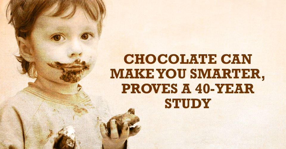 Chocolate Can Make You Smarter, Proves a 40-year Study