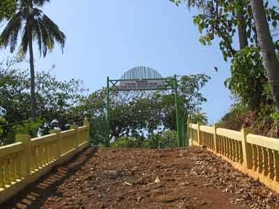 Situs Sunan Ulun di Desa Ciabah Kecamatan Pamengpeuk Kab. Garut