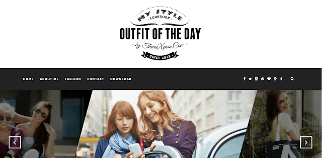 Outfit Blogger Template