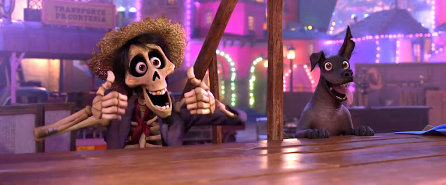 Hector and Dante from Pixar's Coco