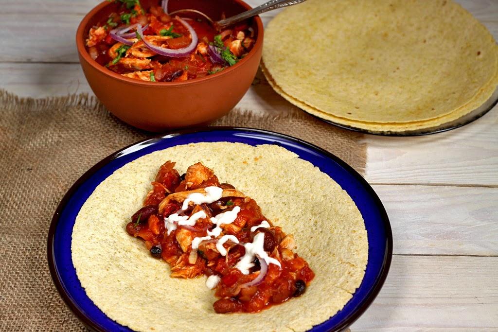 Meksykański gulasz z kurczaka
