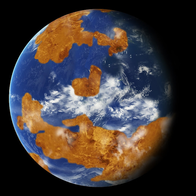 NASA Climate Modeling Suggests Venus May Have Been Habitable