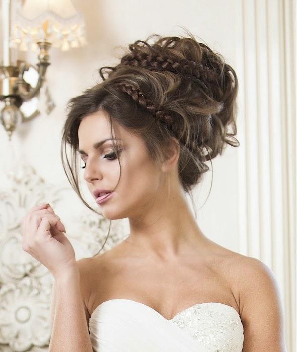 Moda cabellos tendencias 2015 en peinados de novia - Lo ultimo en peinados de novia ...