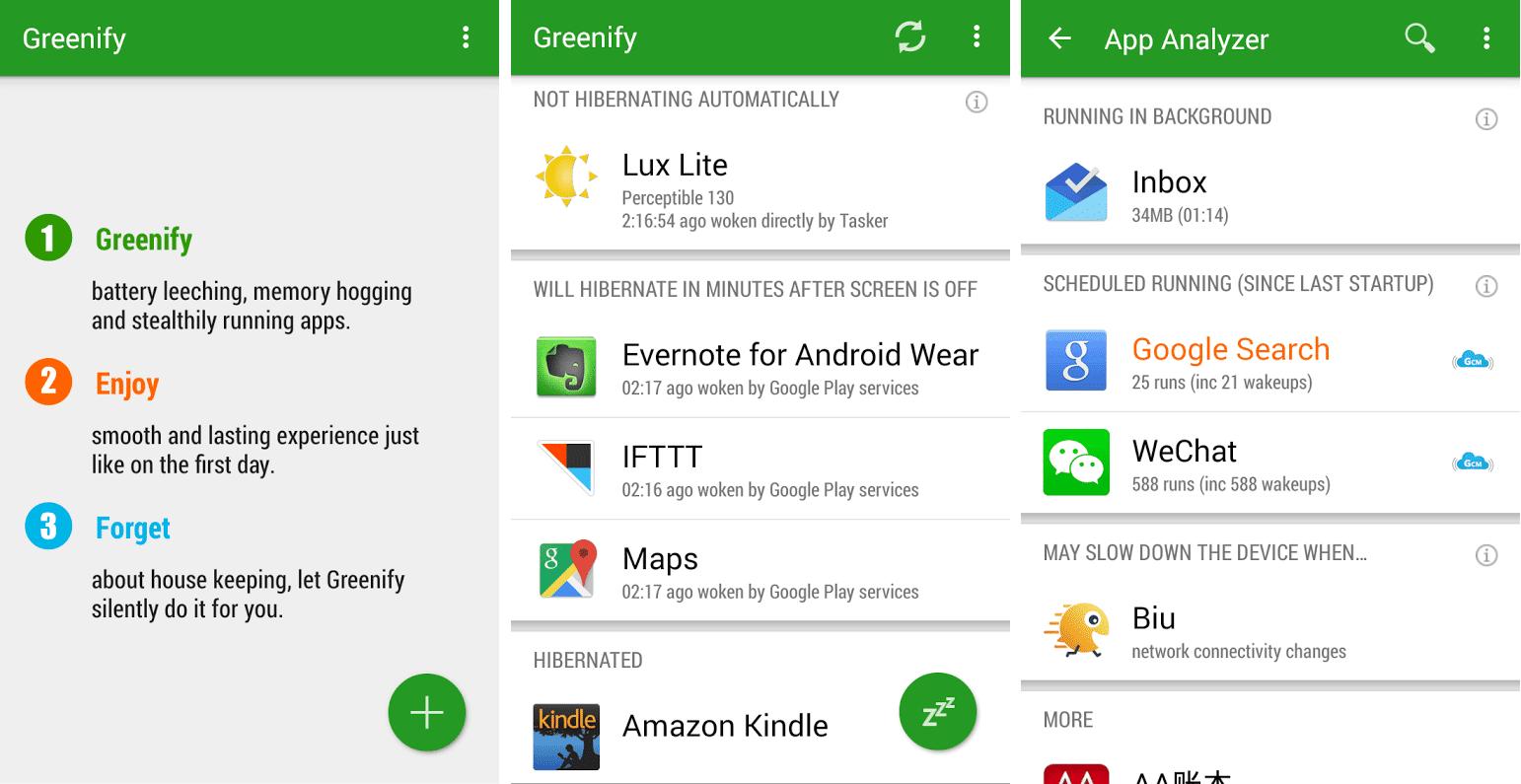 Aplikasi greenify untuk mempercepat performa android