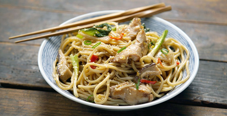 Chinese delicious noodle